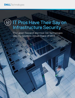 IT Pros Have Their Say on Infrastructure Security