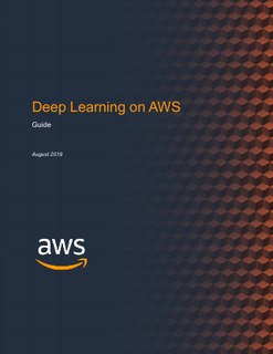 Deep Learning on AWS