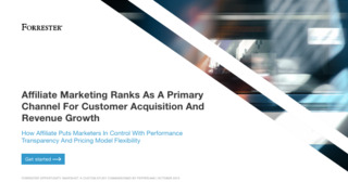 Affiliate Marketing Ranks As A Primary Channel For Customer Acquisition And Revenue Growth