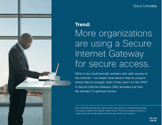 More Organizations are Using a Secure Internet Gateway for Secure Access