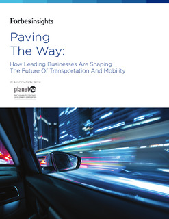 Paving The Way: How Leading Businesses Are Shaping the Future of Transportation and Mobility