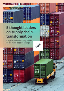 5 thought leaders on supply chain transformation