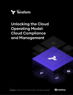 Unlocking the Cloud Operating Model: Cloud Compliance and Management