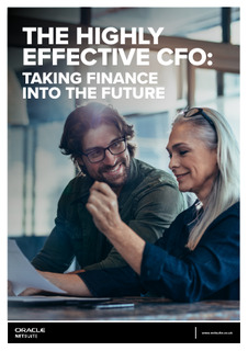 The Highly Effective CFO: Taking Finance Into the Future