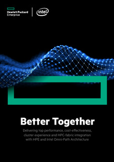 Better Together: HPC Fabric Integration with HPE and Intel Omni-Path