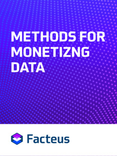 Explore 4 Methods for Monetizing Information and Data