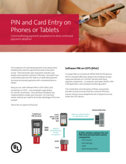 PIN and Card Entry on Phones or Tablets