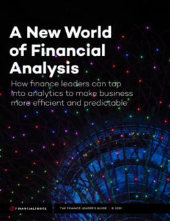The Finance Leader's Guide. A New World of Financial Analysis
