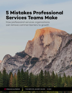 The Top 5 Mistakes Professional Services Teams Make and How To Avoid Them