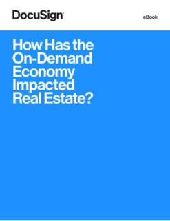 How Has On-Demand Economy Impacted Real Estate?