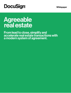 Agreeable Real Estate Whitepaper (Brokers)