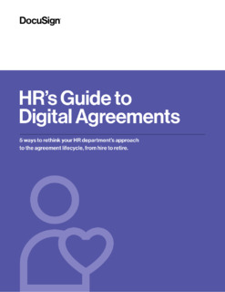 HR's Guide to Digital Agreements