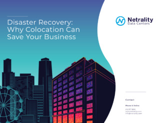 Disaster Recovery: Why Colocation Can Save Your Business
