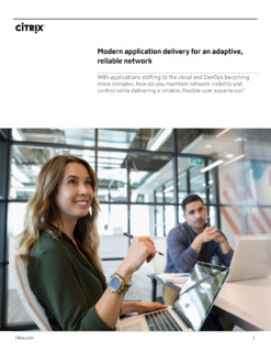 Modern App Delivery For An Adaptive, Optimized Network