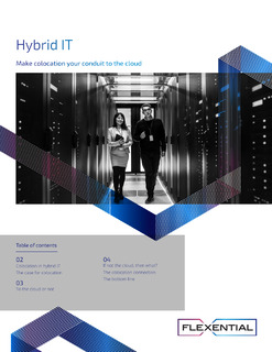 Hybrid IT: make colocation your conduit to the cloud