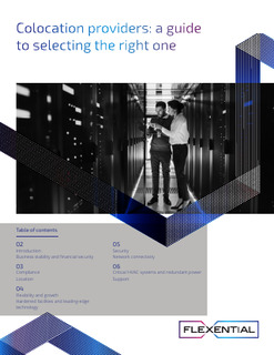 Colocation providers: a guide to selecting the right one