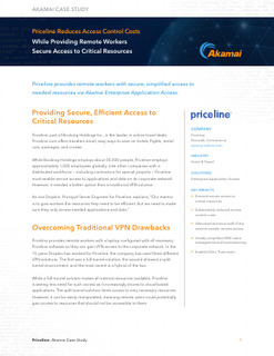 Priceline Provides Remote Secure Access to Critical Resources and Reduces Costs