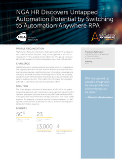 Case Study: Leading HR Provider Saves 13,000 Hours with RPA