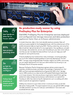 Be Production-Ready Sooner by Using ProDeploy Plus for Enterprise