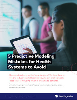 5 Predictive Modeling Mistakes for Health Systems