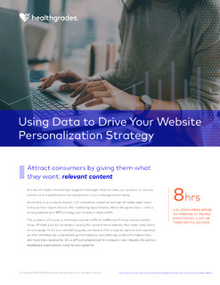 Use Data to Drive Your Website Personalization Strategy