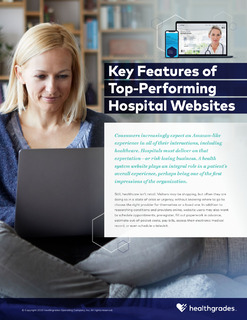 Key Features of Top-Performing Hospital Websites