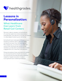 Lessons in Personalization: What Healthcare Can Learn from Retail Call Centers