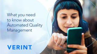 Automated Quality Management