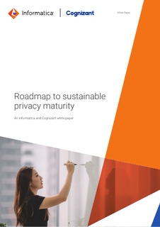 Roadmap to sustainable privacy maturity