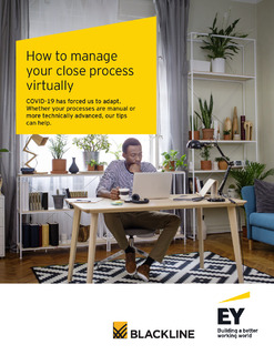 How to Manage Your Close Process Virtually
