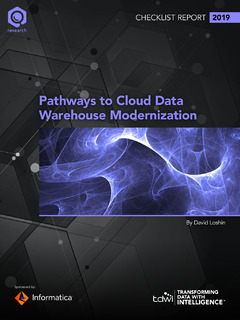 Pathways to Cloud Data Warehouse Modernization