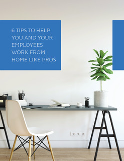6 Tips to Help You and Your Employees Work from Home like Pros