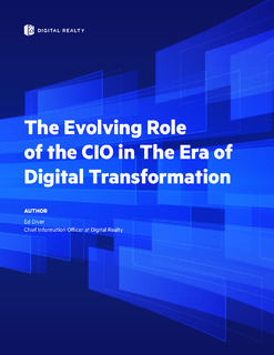The Evolving Role of the CIO in The Era of Digital Transformation