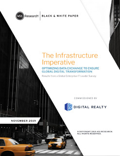 451 Research: The Infrastructure Imperative