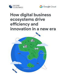 How digital business ecosystems drive efficiency and innovation in a new era