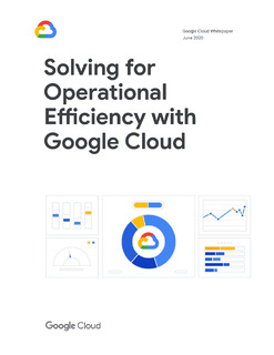 Solving for Operational Efficiency with Google Cloud