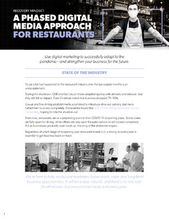 A Phased Digital Media Approach For Restaurants