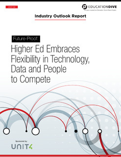 Higher Ed embraces Flexibility in Technology, Data and People to Compete