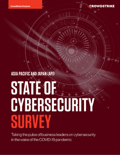 APAC & Japan survey reveals the Future Expectations of Cybersecurity in the wake of COVID-19