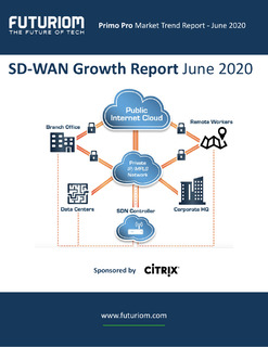 Futuriom: SD-WAN Growth Report June 2020