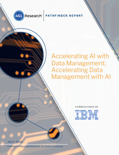 451 research accelerating AI with data management