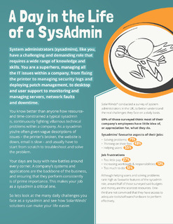 A Day in the Life of a SysAdmin