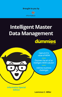 Intelligent Master Data Management for Dummies
