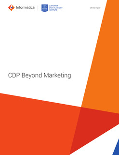 Customer Data Platform: Beyond Marketing