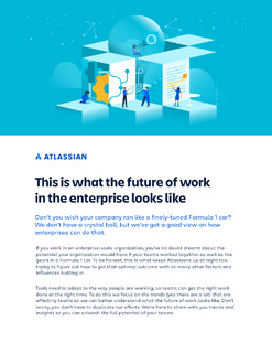 This is what the future of work in the enterprise looks like