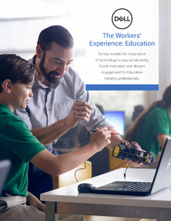 The Workers' Experience: Education