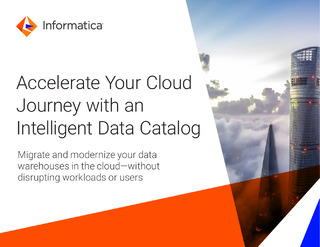 Accelerate Your Cloud Journey with an Intelligent Data Catalog