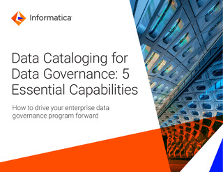 Data Cataloging for Data Governance: 5 Essential Capabilities