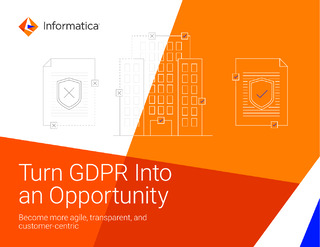 Turn GDPR Into an Opportunity