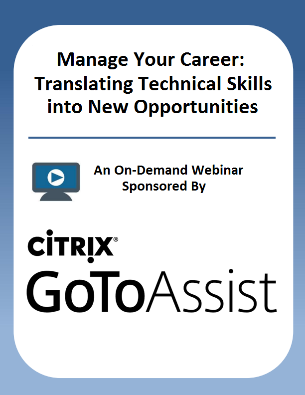 Manage Your Career: Translating Technical Skills into New Opportunities